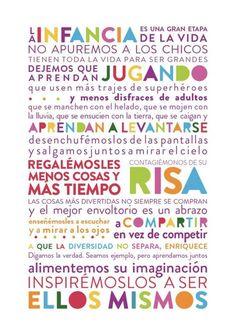 No apuremos *@ Childhood Education, Kids Education, Parenting Articles, More Than Words, Raising Kids, Ideas Para, Preschool, Parents, Inspirational Quotes