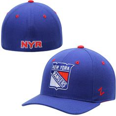 low priced 7c94d e8376 Mens New York Rangers Zephyr Royal Blue Crosscheck Fitted Hat, Your Price    25.99