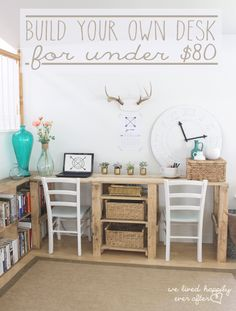 Desk areas, home projects, furniture projects, diy furniture, building furn Furniture Projects, Home Projects, Diy Furniture, Building Furniture, Apartment Furniture, Modern Furniture, Bureau Design, Diy Home Decor, Room Decor