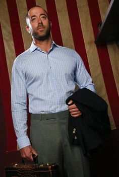 Business Casual: Another button down shirt/khaki combination ...