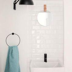 Ferm Living Enter mirror and organic towel