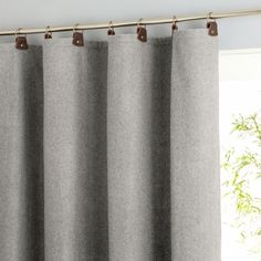 Shop for très chic curtains, voiles and blinds at La Redoute. From organza to black out curtains and roller blinds, we have a great, affordable selection. Plain Curtains, Tab Curtains, Curtains Living, Curtains With Blinds, Lounge Curtains, Curtain Styles, Curtain Designs, Window Coverings, Window Treatments