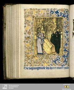Niederländisches Stundenbuch - Cod.brev.11 [Diözese Utrecht][Letztes Drittel 15. Jahrh.] 124v