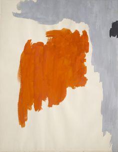 Clyfford Still, PH-573, 1949, gouache on paper, 27 1/2 x 21 1/2 in. (69.9 x 54.6 cm), San Francisco, California.
