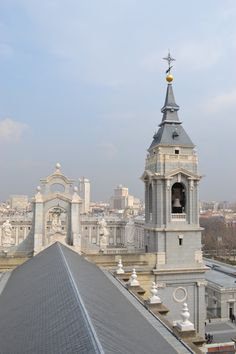"Views from ""Catedral de la Almudena"", it just seems to be in heaven..."