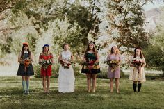 1960s-themed Moonrise Kingdom bridesmaids (with berets!), Fantastic Mr. Fox-inspired groom gear, a globe guest book, gorgeously French pastries, and so many Wes Anderson details to spot — thi…
