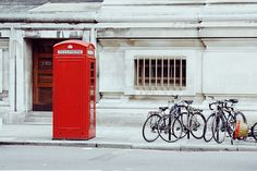 THE Red Telephone Box.