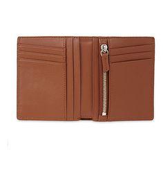 WANT LES ESSENTIELS Bradley bi-fold wallet (Cognac