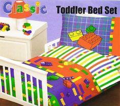 Lego Make  &  Create Toddler Bedding Set