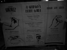 Para que los gringos entiendan nuestra jerga. #argentinos #gestos #modismos #porteños