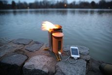 The Biolite Camp Stove - the twig-powered stove that charges your phone while you cook your meal