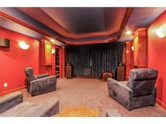 Step into another time in this stunning art deco style theater at 23 Five Ponds Drive - Waccabuc, NY
