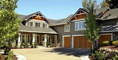 Classic Craftsman Home Plan - 69065AM | Craftsman, Northwest, Luxury, Photo Gallery, Premium Collection, 1st Floor Master Suite, CAD Available, Den-Office-Library-Study, PDF, Corner Lot | Architectural Designs