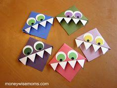 Monster Corner Bookmark