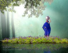 A por agua.... by mariamicaela_m Fine Art Photography #InfluentialLime