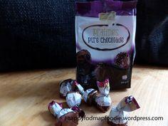 Hele lekkere Pure chocolade 'pralines': Low Fodmap en te koop bij de Lidl. Crunchy stukjes door geroostere cacaobonen en een vulling zonder lactose!