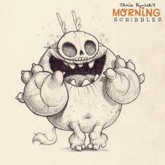 OMG you guys!!! It's here!  Happy Halloween!!!!!!! #morningscribbles #countdowntohalloween