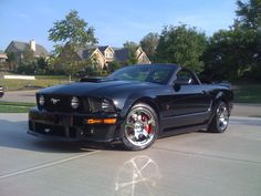 Another happy Palladium Motorsports client: a Stage 2 Rousch Mustang!