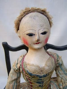 The finest museum quality reproductions and restorations of and century English wooden dolls Wooden Pegs, Wooden Dolls, How To Antique Wood, Queen Anne, Fabric Dolls, Antique Dolls, Halloween Face Makeup, Old Things, Disney Princess