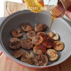 Kışın bu ayazlarda yapılacak en güzel tatlılardan 😍 Ballı, portakallı incirli..İ...
