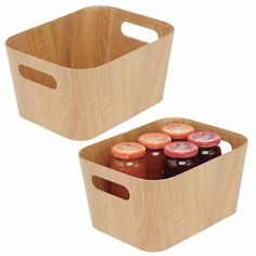 Food Storage Organization, Container Organization, Food Storage Containers, Storage Baskets, Smart Storage, Kitchen Pantry, Kitchen Storage, Kitchen Dining, What Is Stash