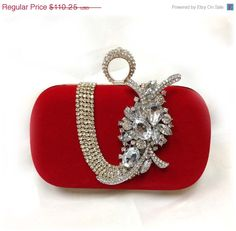 Hey, I found this really awesome Etsy listing at https://www.etsy.com/listing/157242481/wedding-clutch-bridesmaid-clutch-red
