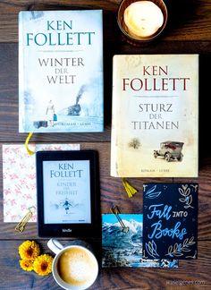 Buchtipp Ken Follett Jahrhundert Trilogie   Sturz der Titaten, Winter der Welt, Kinder der Freiheit   waseigenes.com DIY Blog