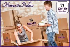 Noah's Ark Moving & Storage have plenty of experience packing things up efficiently, securely, and quickly so that you're free to take care of other things in the days leading up to the move. Moving Companies, Moving Services, Moving And Storage, Packers And Movers, Ark, Kids Room, Packing, Bag Packaging, Room Kids