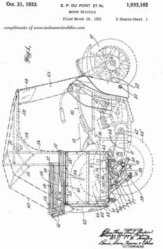 . Tricycle, Diagram, Motorcycle, Indian, Motorcycles, Motorbikes, Choppers