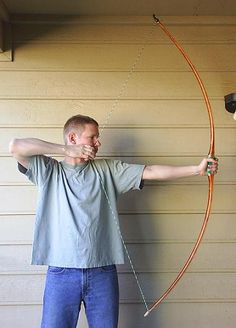 Build an English longbow