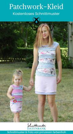 Kids Jersey Dress - Sewing Pattern Database Source by caroline_neuber Sewing Patterns For Kids, Dress Sewing Patterns, Diy Wedding Dress, Summer Dress Outfits, Wedding Beauty, Free Sewing, Wedding Trends, Refashion, Tutu