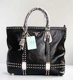 Prada 7867 Popular Fashion Handbag in Black