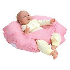 Almohada de amamantar: una ayuda sustanciosa para mamás que amamantan. Esta incluye sistema de seguridad por si te quedas dormida. Smart!