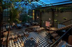 Vista general restaurante Romita, ciudad de Mexico #decoracion #restaurantes