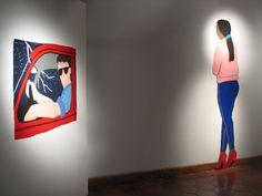 """Pañolencia"" de Erika Tanquilevich. Septiembre 2014 #Arte"