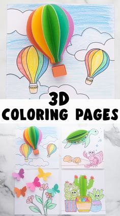 Arts And Crafts For Kids Toddlers, Craft Kits For Kids, Paper Crafts For Kids, Crafts For Kids To Make, Crafts For Girls, Kid Crafts, Preschool Crafts, Fun Indoor Activities, Color Activities