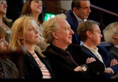 July 5, 2011 - Alan Rickman, Rima Horton, actress Miranda Richardson, and comedian Ruby Wax attend the Independent Voices 5x15: Hacked Off With Free Speech event in London.