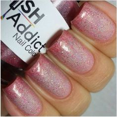 Roses R' Red swatched by @Renee Peterson Shellman Loon now available at www.polishaddictnailcolor.com