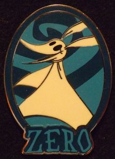 View Pin: DLP Nightmare Before Christmas Booster - Zero