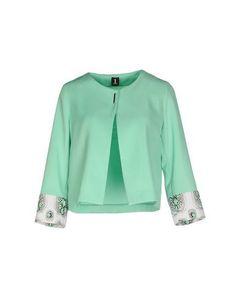 Women Blazer on YOOX. The best online selection of Blazers YOOX exclusive items of Italian and international designers - Secure payments Green Blazer, Green Jacket, Blazer Jacket, Fashion Capsule, Jackett, Blazers For Women, Sportswear, Blouse, Coat