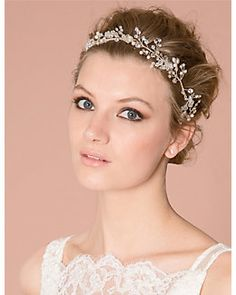 Gem Ribbon #Headband / #Bridal