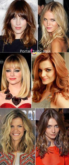 Tendências de cortes de cabelo feminino para o inverno 2014 | Portal Tudo Aqui