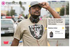 Gary Gray (DJ Greg Mack) T-Shirt (47 Brand) aus dem Film Straight Outta Compton