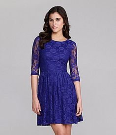 Gianni Bini Gavin Lace Dress #Dillards