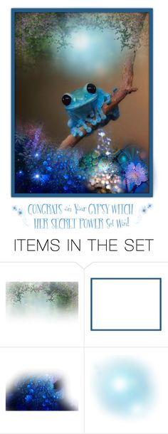 """""""Doo-Dew Frog ~ Gypsy Witch's Secret Power Set Award!"""" by funkyjunkygypsy ❤ liked on Polyvore featuring art"""