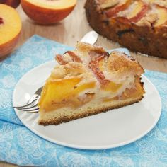 Summer Peach Cake {Sweet Pea's Kitchen}