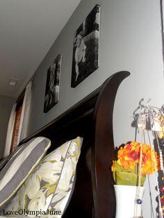 Canvas photos- easy DIY project