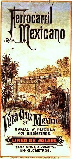 Mexico Railway, Jalapa Line, Vera Cruz. The Jalapa Railroad & Power Co. was a railroad enterprise that offered passenger and cargo service between the towns of Xalapa and Teocelo, within the state of Veracruz, México, from 1898 thru 1945.