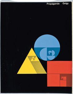 Document portfolio for Geigy, 1957, designed by Jörg Hamburger.