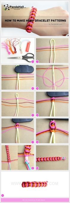 Friendship bracelet-wonder if I could do this with regular string…